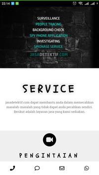 jasa detektif poster