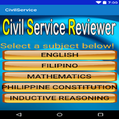 Civil Service Reviewer (Tested and Proven) icon