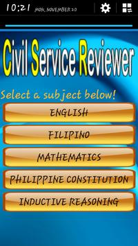 Civil Service Reviewer (Tested and Proven) screenshot 1