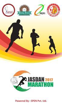 Jasdan Marathon 2017 poster