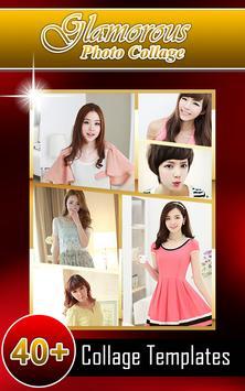 Glamorous Photo Collage Maker poster