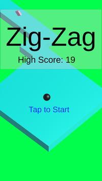 Zig-Zag poster