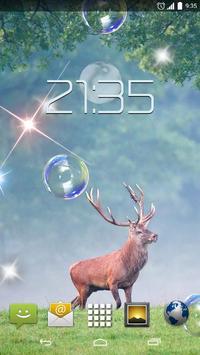 Forrest Deer 4K Live Wallpaper poster