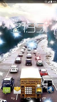 Highway Road 4k Live Wallpaper Poster