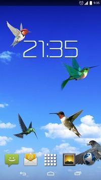 Sky Birds Live Wallpaper poster