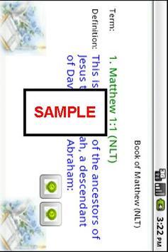 Book of Luke (NLT) apk screenshot