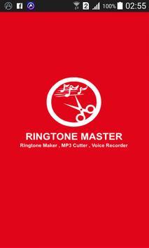 Ringtone Maker MP3 cutter poster