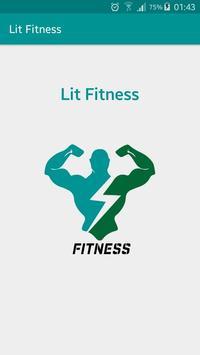 Lit Fitness poster