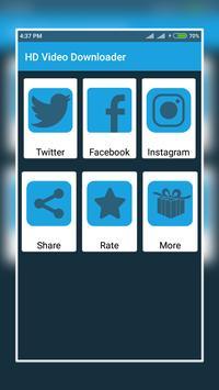 Video Downloader For Facebook IG and Tweet poster