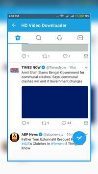 Video Downloader For Facebook IG and Tweet apk screenshot