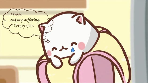 Bananya anime Wallpapar poster