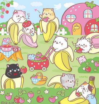 Bananya anime Wallpapar screenshot 2