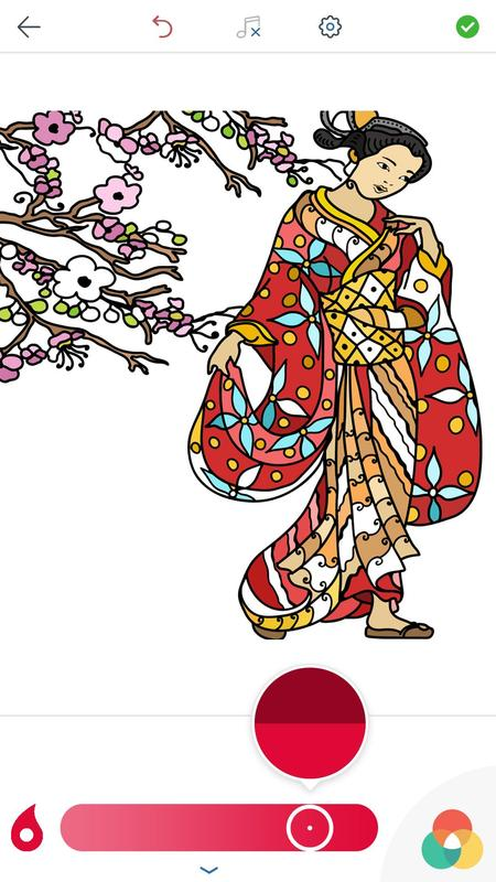 Dibujos Japoneses para Colorear for Android - APK Download