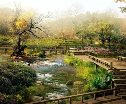 Japanese Garden Design Ideas apk screenshot