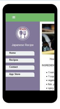 Instant Japaneses Recipes apk screenshot