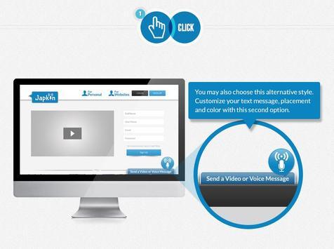 Japkin for Websites apk screenshot