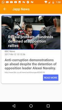 Japp News apk screenshot