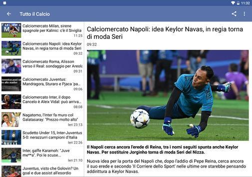 Schermata apk Tutto il Calcio 2018/2019
