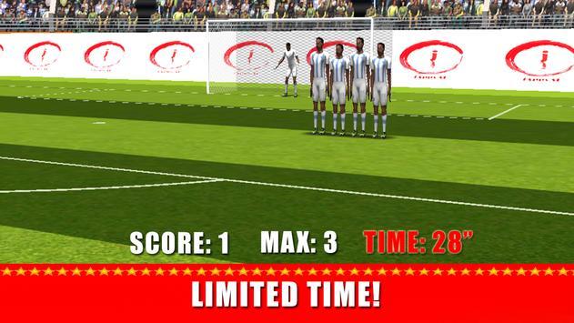 Soccer Game 2017 capture d'écran 6