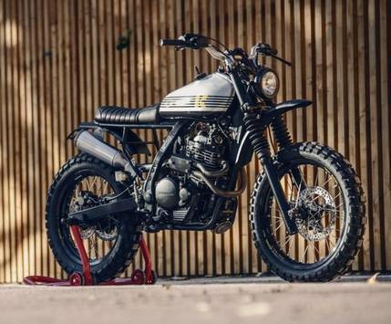 japstlyle motorbike custom poster
