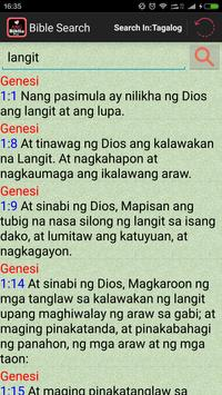 Filipino Tagalog Bible(Biblia) apk screenshot