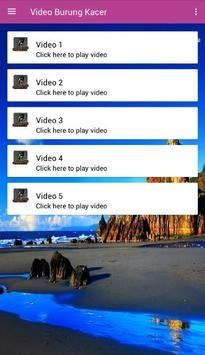 Video Burung Kacer screenshot 3