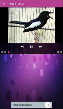 Mp3 Suara Kacer screenshot 1