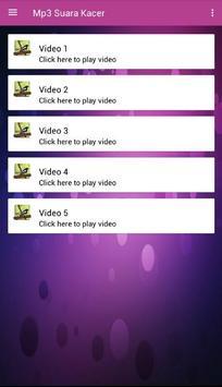 Mp3 Suara Kacer screenshot 3