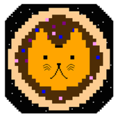 Cats On Donuts IN SPACE icon