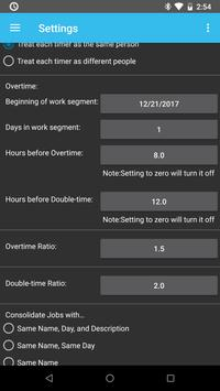 time card for android free screenshot 6 - Android Time Card