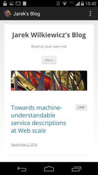 Jarek's Blog screenshot 3