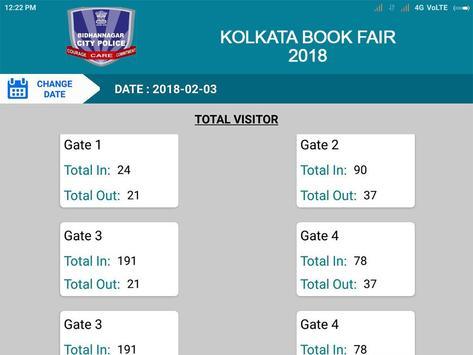 Kolkata Book Fair FootFall Counting apk screenshot