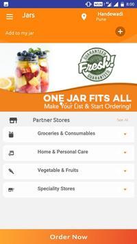 JARS  - Online Groceries and More screenshot 1