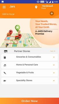 JARS  - Online Groceries and More screenshot 2