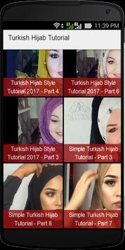 Turkish Hijab Tutorial screenshot 1