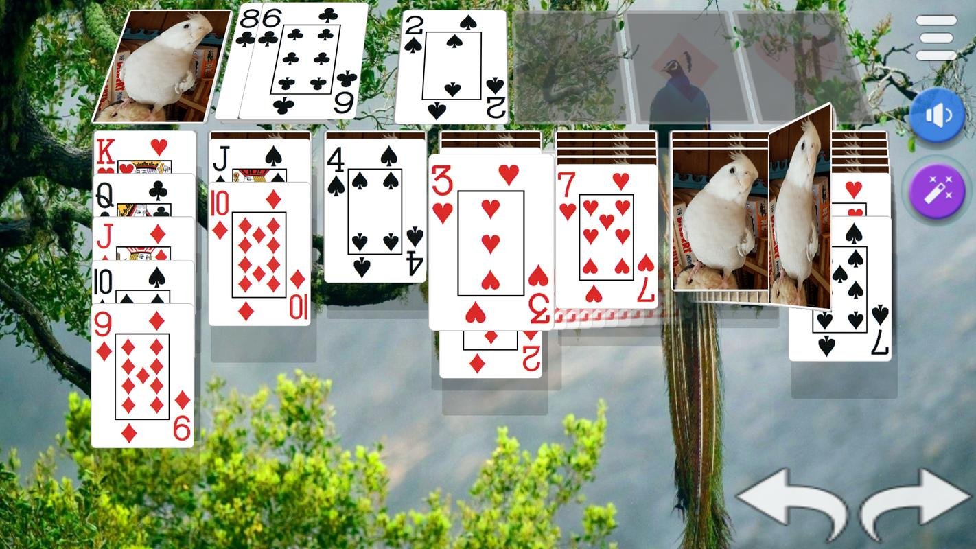 how to play patience using cards