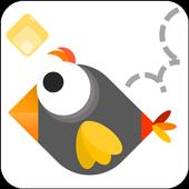 Tap Tap Ninja Bird Climb icon