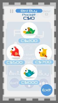 Tap Tap Ninja Bird Climb screenshot 14