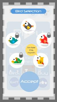 Tap Tap Ninja Bird Climb screenshot 1