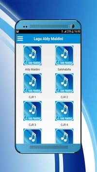 Lagu Aldy Maldini Lengkap - Biar Aku Yang Pergi apk screenshot
