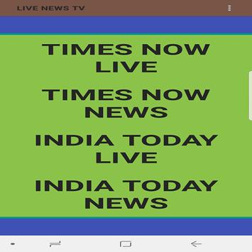 India today live news