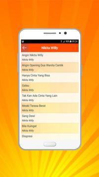 Lagu Nikita Willy Lengkap - Angin apk screenshot
