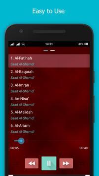 Murottal Quran Saad Al Ghamdi apk screenshot