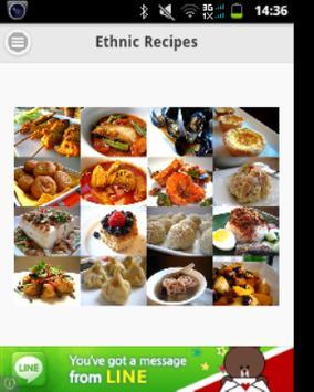 Ethnic Recipes poster