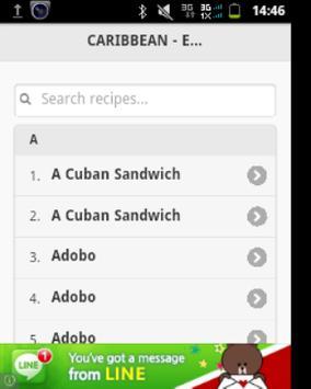 Ethnic Recipes apk screenshot