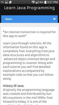 Learn Java poster