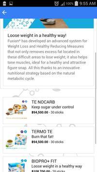 FuXion Product Catalog apk screenshot