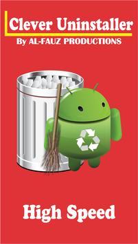 Uninstaller app tool poster