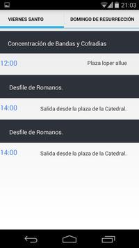Semana Santa Huesca apk screenshot