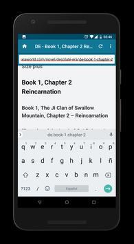 Web Reader screenshot 6